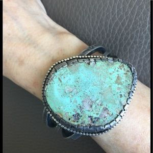 Jewelry - For Us that LOVE Old Vintage Turquoise Cuff!